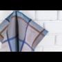 Kép 4/6 - TEA Kék színű konyharuha evőeszköz mintával 50*70 cm