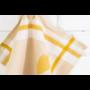 Kép 5/6 - TEA Okker színű konyharuha körte mintával 50*70 cm