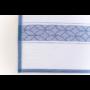 Kép 6/6 - TEA Konyharuha fehér alapon sötétkék mintával 50*70 cm