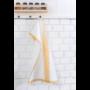 Kép 4/6 - TEA Konyharuha fehér alapon okker mintával 50*70 cm