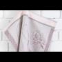 Kép 5/6 - TEA Konyharuha rózsaszín alapon gyümölcs mintával 50*70 cm