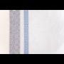 Kép 3/7 - INKA Asztalterítő fehér alapon sötétkék és szürke mintával 140*180 cm
