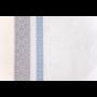 Kép 6/7 - INKA Asztalterítő fehér alapon sötétkék és szürke mintával 140*180 cm
