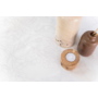 Kép 7/7 - INKA Asztalterítő fehér alapon sötétkék és szürke mintával 140*180 cm