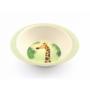 Kép 3/7 - Yuunaa bambusz gyerek étkészlet - zsiráf