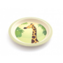 Kép 5/7 - Yuunaa bambusz gyerek étkészlet - zsiráf