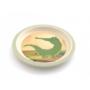 Kép 6/7 - Yuunaa bambusz gyerek étkészlet - krokodil