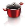 Kép 5/5 - Berlinger Haus Tészta és rizs főző edény fedővel, 24 cm, Metallic Line Burgundy Edition