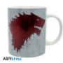 Kép 5/5 - GAME OF THRONES - bögre - 320 ml - The North remembers