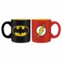 Kép 1/2 - DC COMICS 2 db-os mini bögre szett 110 ml - Batman & Flash