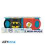 Kép 2/2 - DC COMICS 2 db-os mini bögre szett 110 ml - Batman & Flash