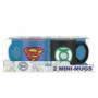 Kép 4/5 - DC COMICS - 2 db-os bögre szett - 110 ml - Superman & Zöld Lámpás *