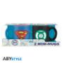 Kép 2/5 - DC COMICS - 2 db-os bögre szett - 110 ml - Superman & Zöld Lámpás *
