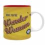 "Kép 1/5 - DC COMICS - bögre - 320 ml - ""Wonder Woman"" - subli"