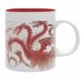 "Kép 3/5 - GAME OF THRONES - bögre - 320 ml - ""Red Dragon""- subli"