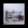 Kép 4/4 - Edényszárító mosogató fölé dupla tálcás