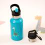 Kép 3/7 - TEMPflask, gyerek termosz kulacs 350ml - tűrkíz