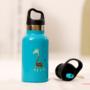 Kép 4/7 - TEMPflask, gyerek termosz kulacs 350ml - tűrkíz
