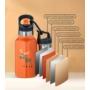 Kép 7/7 - TEMPflask, gyerek termosz kulacs 350ml - tűrkíz
