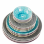 Kép 6/7 - SUMATRA tányér 25cm szürke