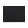Kép 1/6 - FELTO alátét fekete 33x45cm