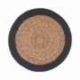 Kép 2/3 - SAUVAGE alátét natúr fekete szegéllyel 38cm