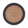 Kép 1/3 - SAUVAGE alátét natúr fekete szegéllyel 38cm