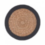 Kép 3/3 - SAUVAGE alátét natúr fekete szegéllyel 38cm