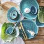 Kép 7/7 - DE LA ROYA tányér 28,7x24cm kék