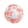 Kép 3/6 - ORNAMENTS tálka kék mintás/ piros virágok 520ml