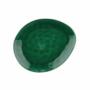 Kép 2/7 - DE LA ROYA tányér 19,7x16,5cm sötét zöld