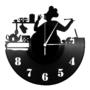 Kép 5/6 - Bakelit óra - konyhafőnök