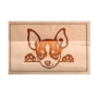 Kép 4/6 - Pekingi Chihuahua egyedi vágódeszka-nagy
