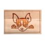 Kép 4/6 - Pekingi Chihuahua egyedi vágódeszka - XXL