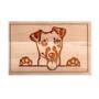 Kép 1/6 - Jack Russell terrier vágódeszka - nagy