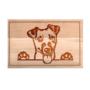 Kép 3/6 - Jack Russell terrier vágódeszka - nagy