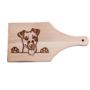 Kép 2/6 - Jack Russell terrier vágódeszka - nyeles