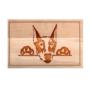 Kép 4/6 - Dobermann vágódeszka - több méretben