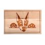 Kép 5/6 - Dobermann vágódeszka - több méretben