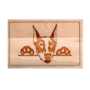 Kép 6/6 - Dobermann vágódeszka - több méretben