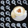 Kép 1/7 - Cappuccino és kávé díszítő sablonok (16db)